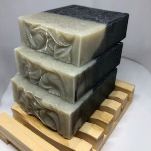 🧼Artisan Natural Bentonite Clay charcoal soap🧼🧼